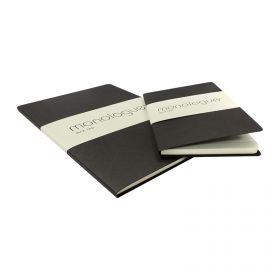 Monologue Bloc Pad A4 50 L - Black