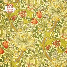 William Morris Gallery: Golden Lily, 1000-piece Jigsaw Puzzle
