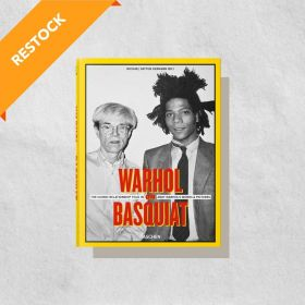 Warhol on Basquiat: The Iconic Relationship Told in Andy Warhol's Words and Pictures, Multilingual Edition (Hardcover)