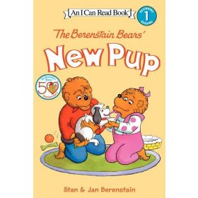 I Can Read: The Berenstain Bears' New Pup, Level 1 (Paperback)