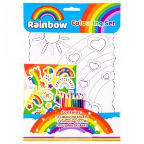 Rainbow Colouring Set (Mixed Media Product)