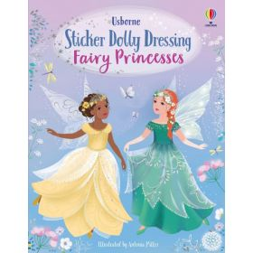 Sticker Dolly Dressing Fairy Princesses (Paperback)