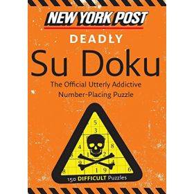 New York Post Deadly Su Doku: 150 Difficult Puzzles (Paperback)