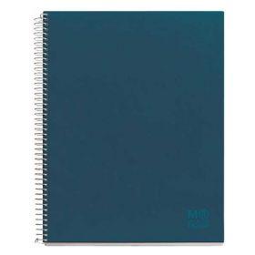 Miquelrius: Nordic Colors A5 Lined Notebook (Petroleum Blue) Nordic (Blue)
