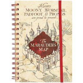 Harry Potter - The Marauders Map A5 Notebook