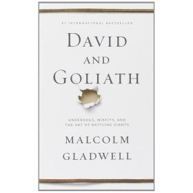 David and Goliath: Underdogs, Misfits and the Art of Battling Giants, International Edition (Mass Market)