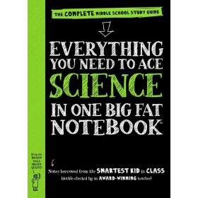 Everything You Need to Ace Science in One Big Fat Notebook: The Complete Middle School Study Guide (Paperback)