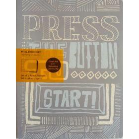 Moleskine Cover Art Journal, Ruled (Start)