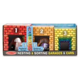 Melissa & Doug: Nesting & Sorting Garages & Cars