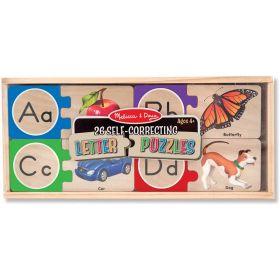 Melissa & Doug: Self-Correcting Alphabet Letter Puzzles