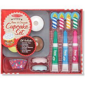 Melissa & Doug: Bake & Decorate Cupcake Set