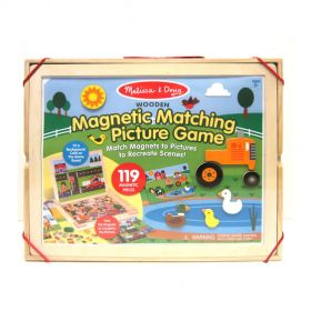 Melissa & Doug: Magnetic Matching Picture Game