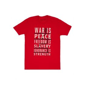 Out of Print: War is Peace Unisex T-Shirt (Small)