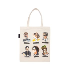 Out of Print: Punk Rock Authors Tote Bag