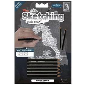 Royal & Langnickel: Mini Sketching Made Easy - Sea Horse