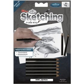 Royal & Langnickel: Mini Sketching Made Easy - Whales