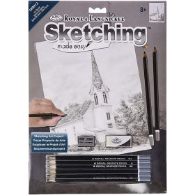 Royal & Langnickel: Sketching Made Easy - Ivy Church
