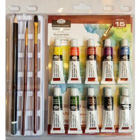 Royal & Langnickel: Watercolor Paint Clamshell Set - 15 pc