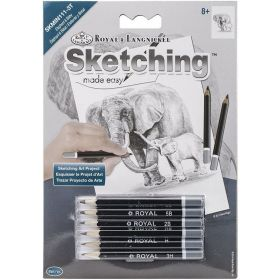 Royal & Langnickel: Mini Sketching Made Easy - Elephant & Baby