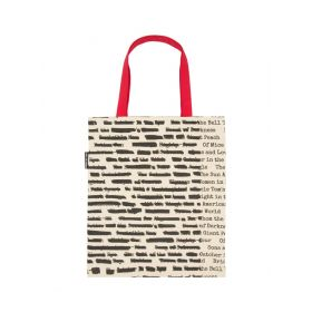 Out of Print: Banned Books Tote Bag