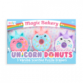 Oooly: Magic Bakery Unicorn Donuts Scented Erasers
