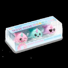 Ooly: Nom Nom Narwhals Scented Erasers