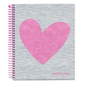 Miquelrius: A5 Spiral Notebook, Agatha Ruiz de la Prada - Love