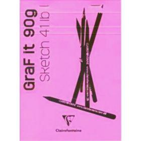 Clairefontaine: Graf It Sketch Pad A5 (Plain)