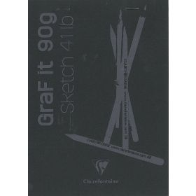 Clairefontaine: Graf It Pad A5 (Black)