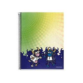 Miquelrius: A4 Lined Notebook (Kukuxumusu, Bull Fiction)