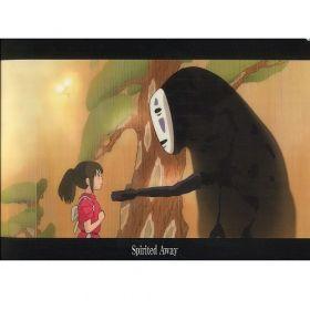 Studio Ghibli: Spirited Away A4 Clear File (Chihiro and Kaonashi)