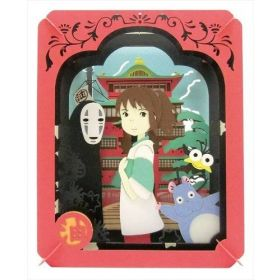 Studio Ghibli: Paper Theater Spirited Away In A Mysterious Town