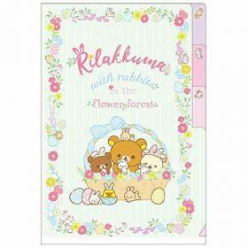 San-X: Rilakkuma Rabbit, Index Folder A6