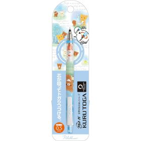 San-X: Kurutoga Mechanical Pencil 0.5mm Rilakkuma Star Blue