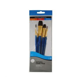 Daler-Rowney: Simply Camel Hair 5-Piece Brush Set