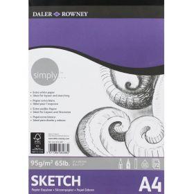 Daler-Rowney: Simply A4 Sketch Pad