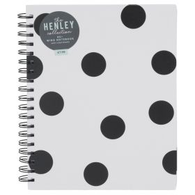 Henley Monochrome Dot B5 Notebook