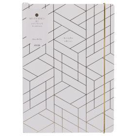 WHSmith: Moderno Woman Pink Geometric B5 Notebook