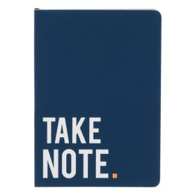 Navy Take Note A5 Notebook