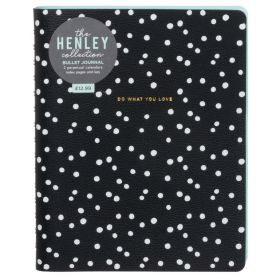 WHSmith: Henley A5 Dotted Notebook (Monochrome)