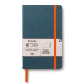 IF: Bookaroo A5 Notebook Journal - Teal (Hardcover)