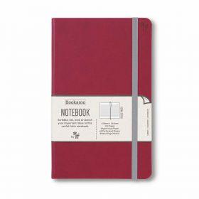 IF: Bookaroo A5 Notebook Journal (Dark Red)