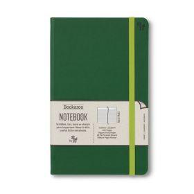 IF: Bookaroo A5 Notebook Journal - Forest Green (Hardcover)