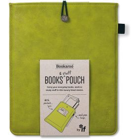IF: Bookaroo Books & Stuff Pouch (Chartreuse)