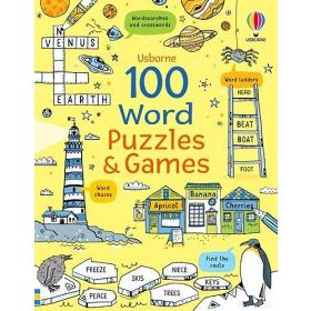 100 Word Puzzles and Games (Paperback)