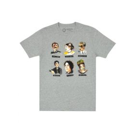 Out of Print: Punk Rock Authors Unisex T-Shirt (Medium)