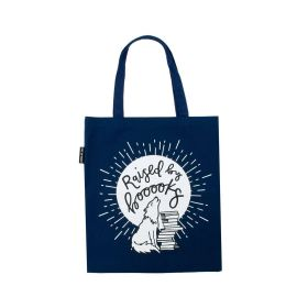 Out of Print: Raised by Books Tote Bag