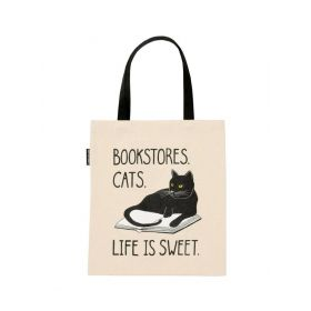Out of Print: Bookstore Cats Tote Bag