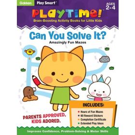 Play Smart Playtime: Can You Solve It? Amazingly Fun Mazes (Paperback)