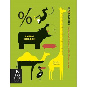 Infographics: Animal Kingdom (Paperback)